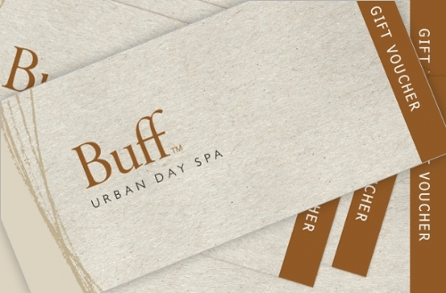 BUFF DAY SPA GIFT VOUCHERS