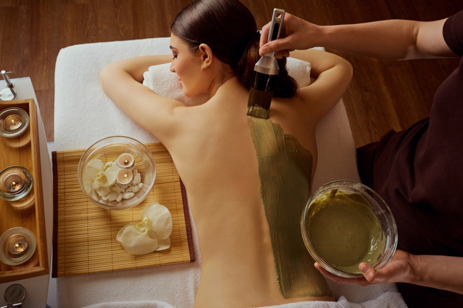 Total Harmony Experience spa treatment at Buff in Taunton, Somerset.