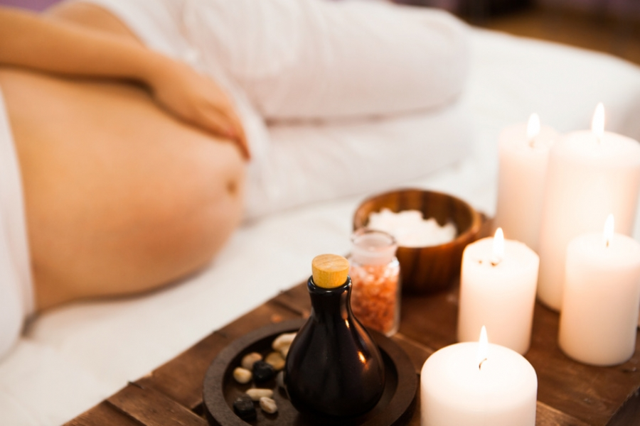 ESPA Mums To Be pregnancy massage in Taunton, Somerset.
