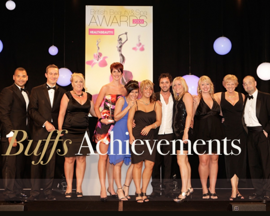 British Beauty & Spa Awards Day Spa of the year Winner